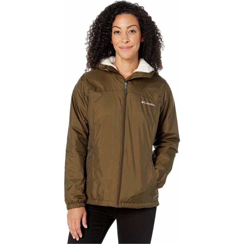 コロンビア Columbia レディース ジャケット アウター【Switchback Sherpa Lined Jacket】Olive Green/Chalk