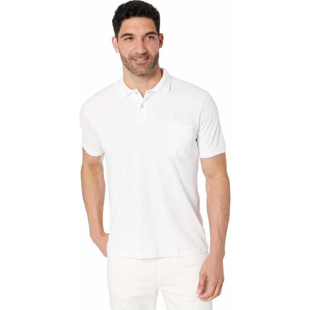 スウィムス SWIMS メンズ ポロシャツ トップス【Breeze Polo】White