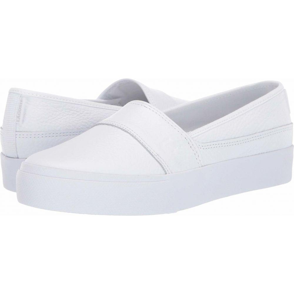 ラコステ Lacoste レディース スニーカー シューズ・靴【Marice Plus Grand 319 1】White/White