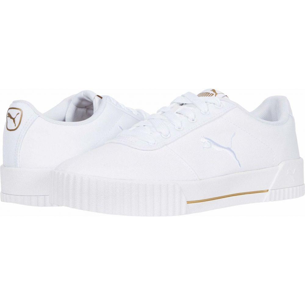 プーマ PUMA レディース スニーカー シューズ・靴【Carina Summer Cat】Puma White/Puma White