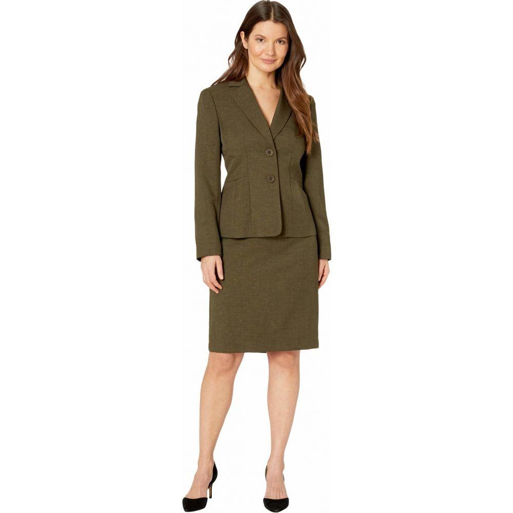 ル スーツ Le Suit レディース スーツ・ジャケット アウター【Jacket/Skirt Suit Set】Loden