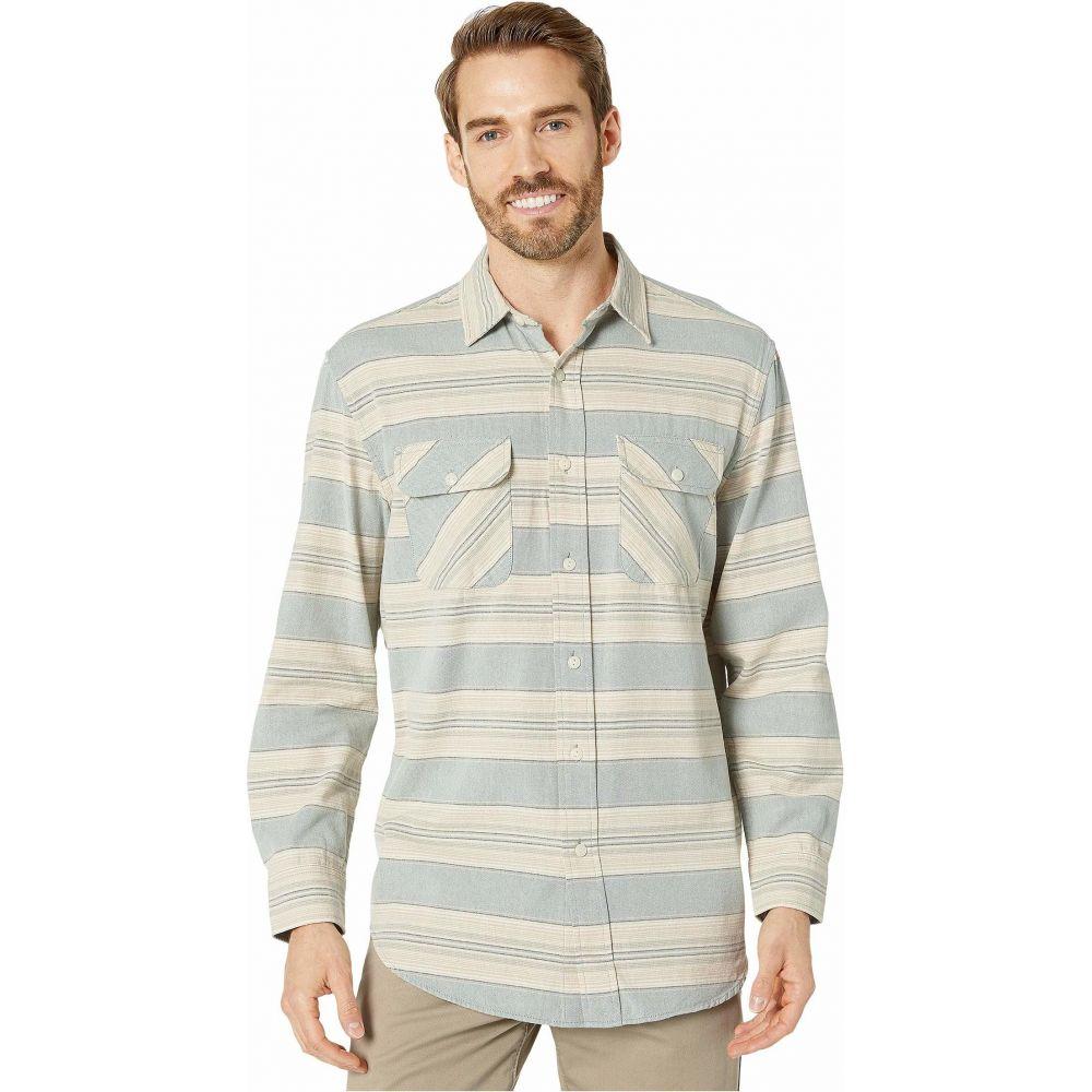 ペンドルトン Pendleton メンズ シャツ トップス【Beach Shack Shirt】Blue/Green/Tan Stripe
