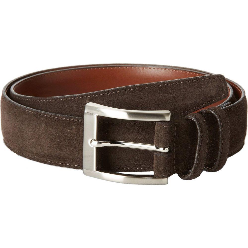 トリノレザー Torino Leather Co. メンズ ベルト 【35MM Italian Calf Suede】Brown