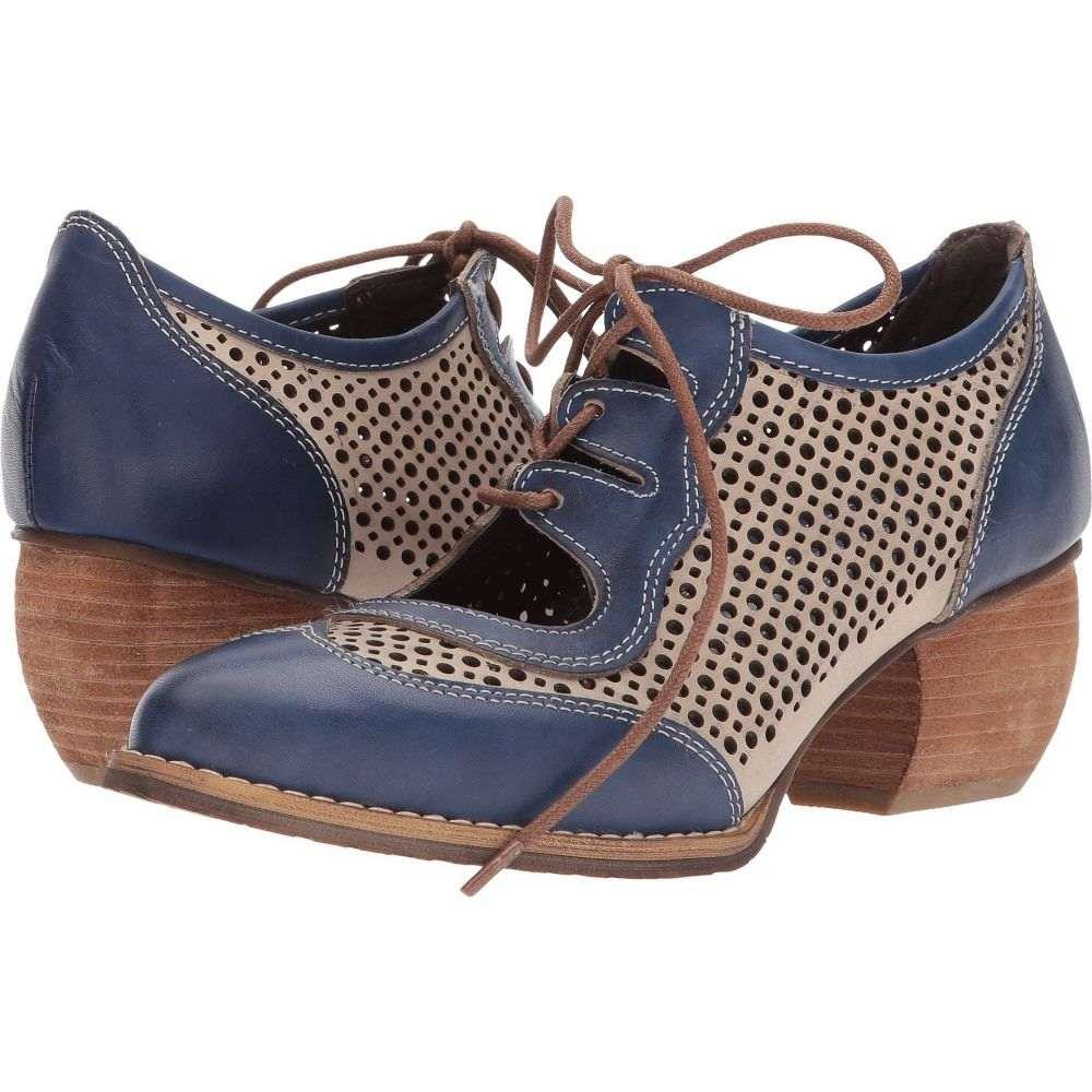 スプリングステップ L'Artiste by Spring Step レディース ローファー・オックスフォード シューズ・靴【Gabriel】Blue Multi