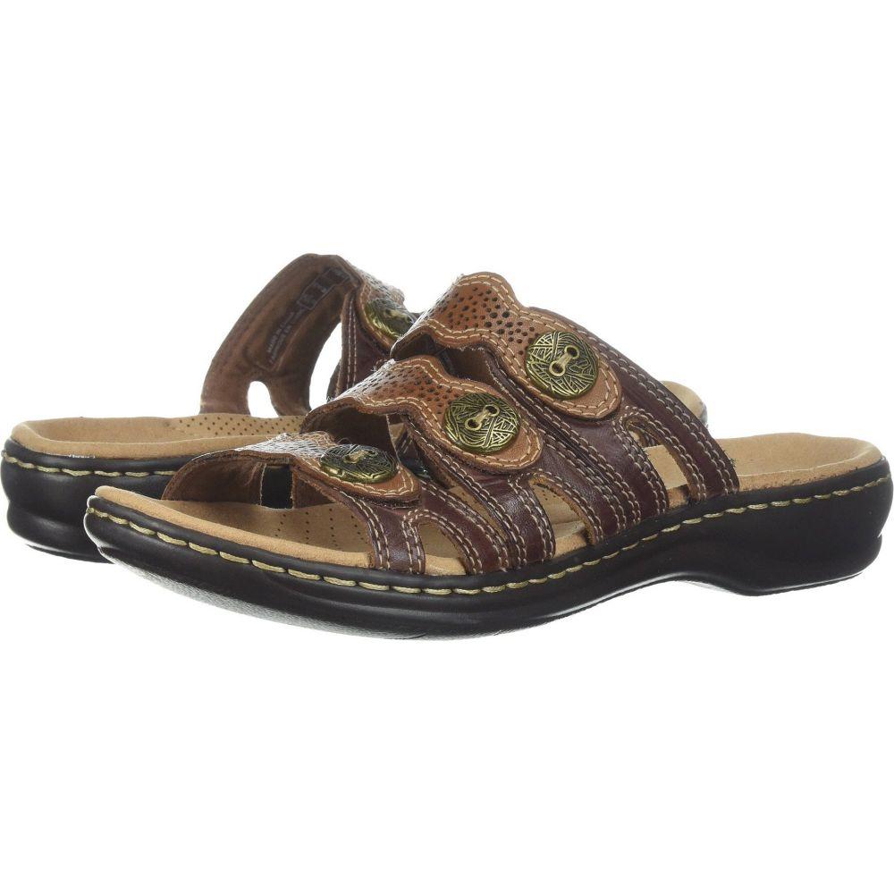 クラークス Clarks レディース サンダル・ミュール シューズ・靴【Leisa Grace】Brown Multi Leather