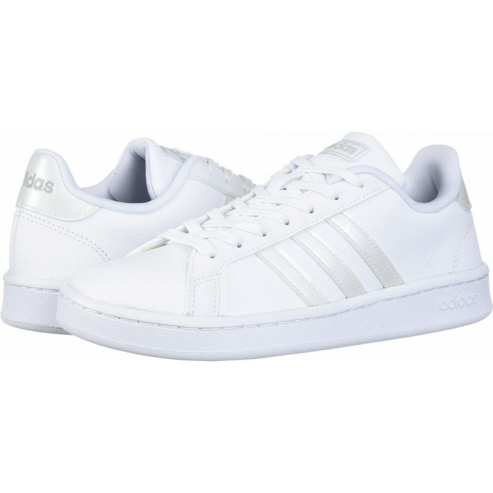 アディダス adidas レディース スニーカー シューズ・靴【Grand Court】White/White/Grey Two