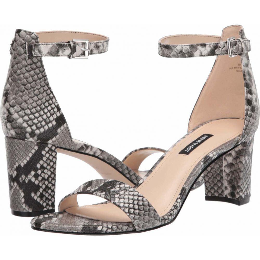 ナインウエスト Nine West レディース サンダル・ミュール シューズ・靴【Pruce Block Heeled Sandal】Gray Multi