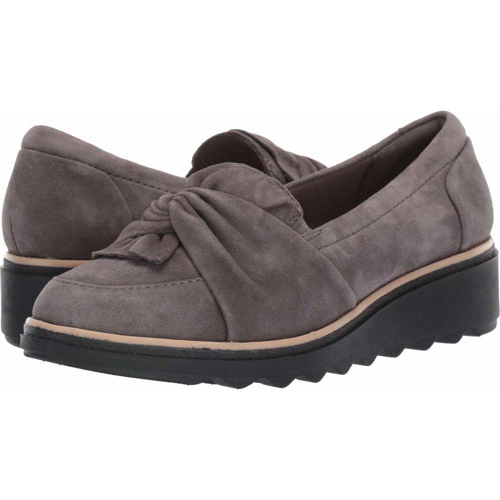 クラークス Clarks レディース ローファー・オックスフォード シューズ・靴【Sharon Dasher】Grey Suede