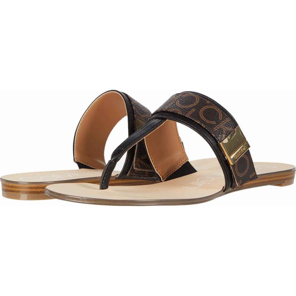 カルバンクライン Calvin Klein レディース サンダル・ミュール シューズ・靴【Sallie】Black