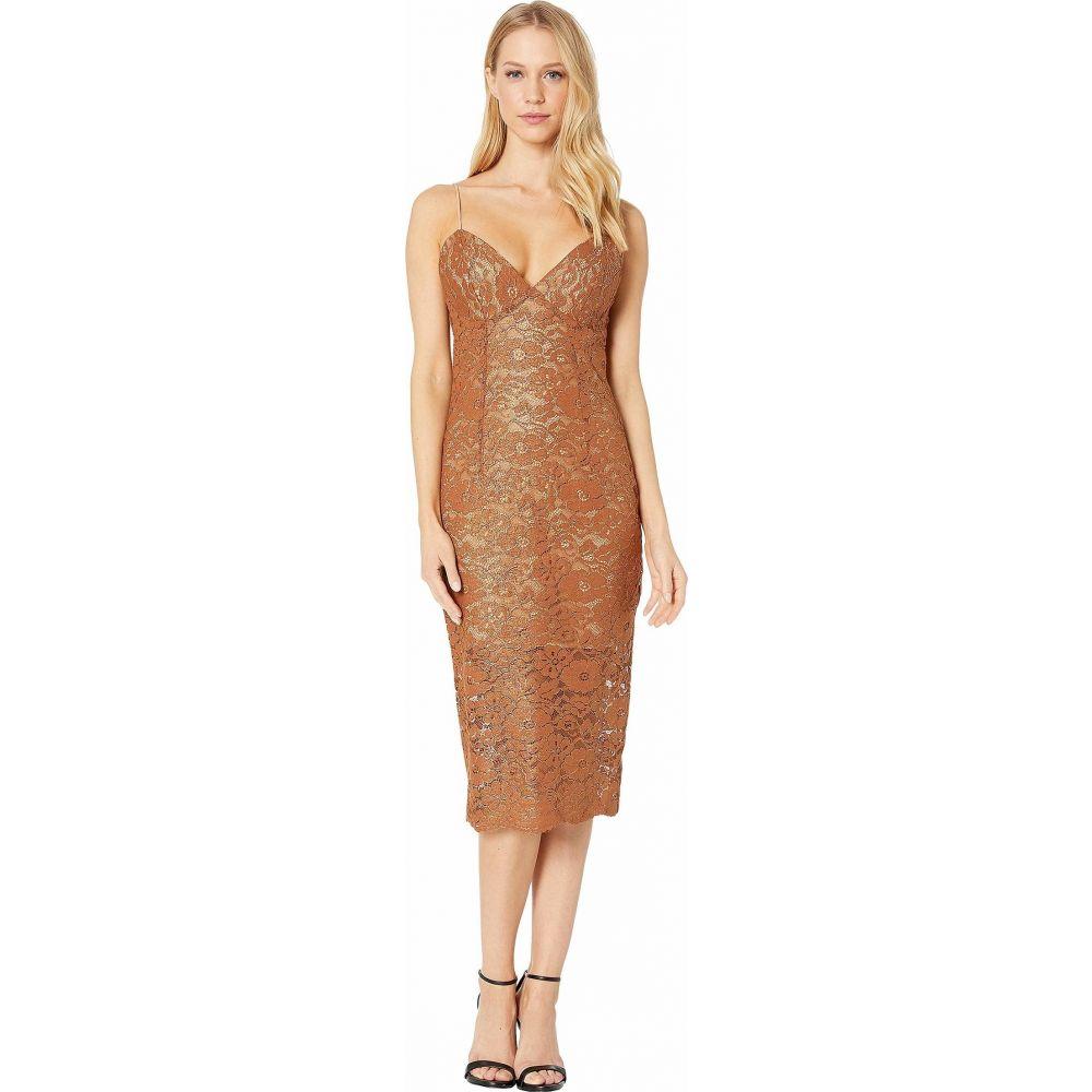 バルドー Bardot レディース ワンピース ワンピース・ドレス【Golden Lace Dress】