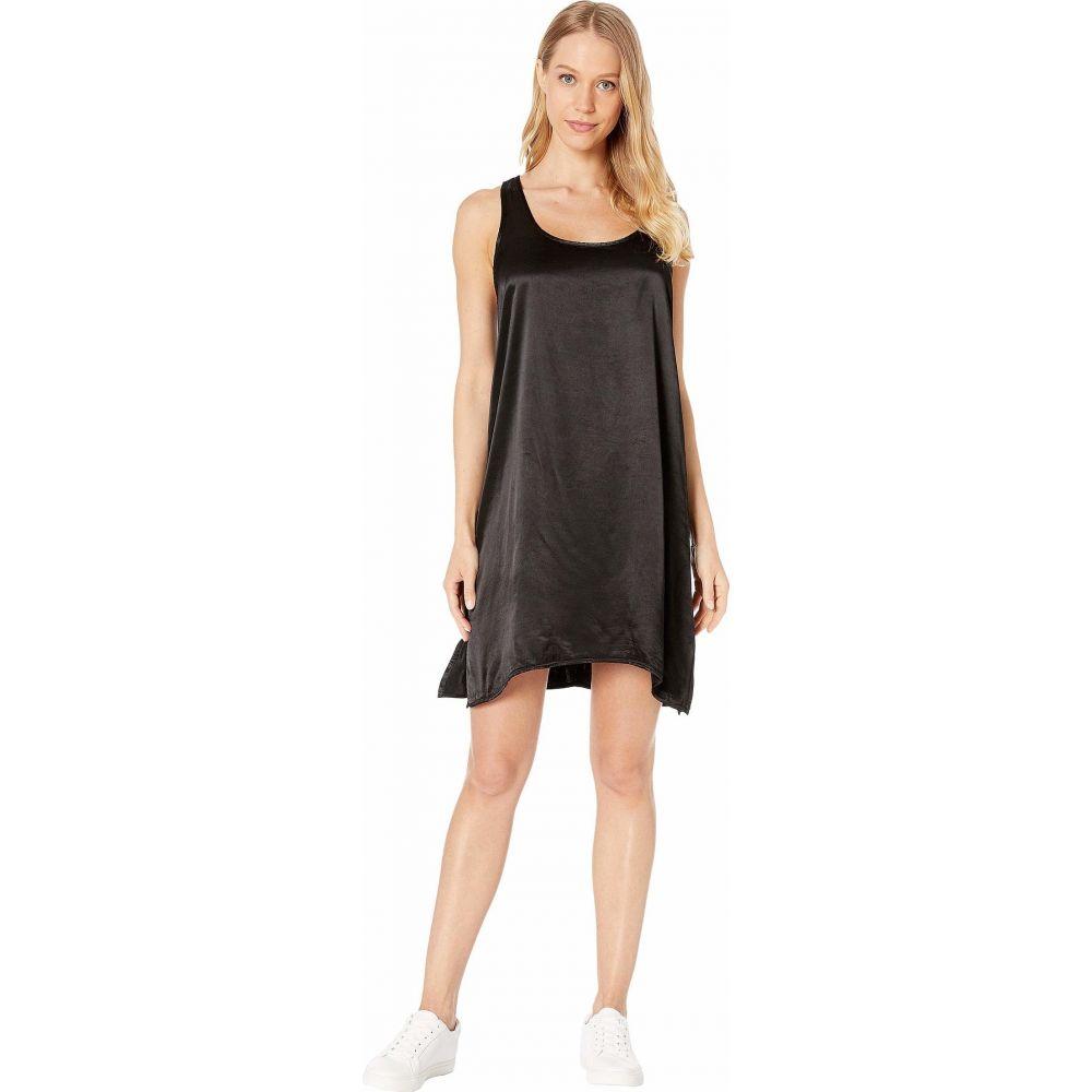 ハードテイル Hard Tail レディース ワンピース タンクドレス ワンピース・ドレス【A-Line Tank Dress】Black