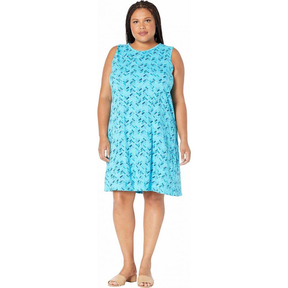 フレッシュプロデュース Fresh Produce レディース ワンピース 大きいサイズ ワンピース・ドレス【Plus Size Maritime Mosaic Marissa Dress】Luna