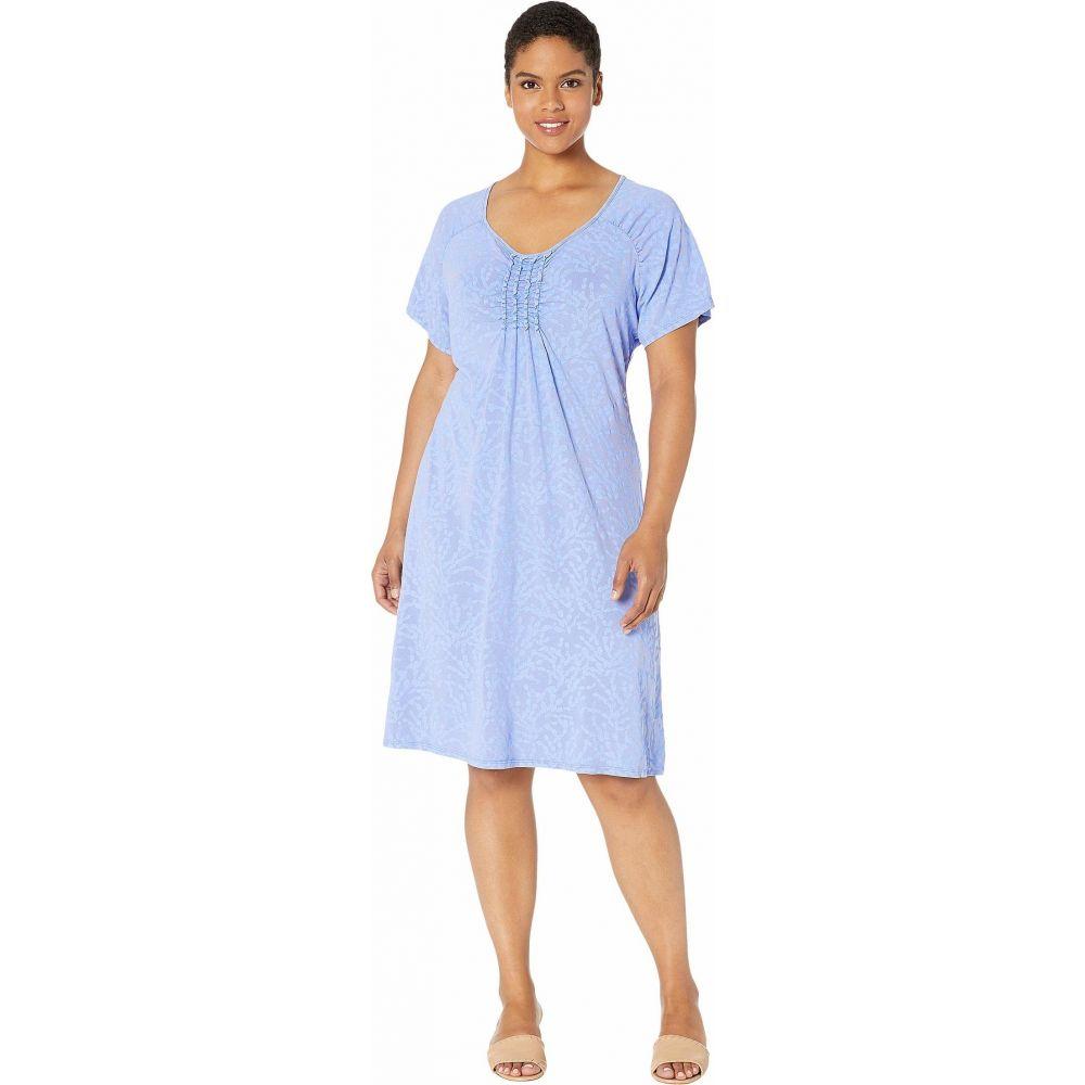 フレッシュプロデュース Fresh Produce レディース ワンピース 大きいサイズ ワンピース・ドレス【Plus Size Coral Clusters Emma Dress】Peri