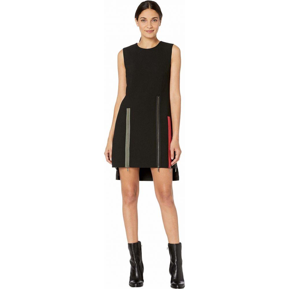 ニコルミラー Nicole Miller レディース ワンピース シフトドレス ワンピース・ドレス【Exposed Zippers Shift Dress】Black