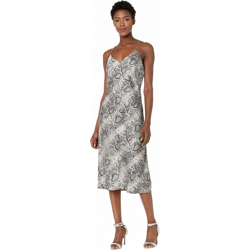アメリカンローズ American Rose レディース ワンピース ワンピース・ドレス【Nell Spaghetti Strap Snake Print Dress】