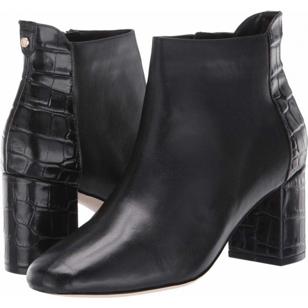 コールハーン Cole Haan レディース ブーツ シューズ・靴【Nella Bootie 65 mm】Black Leather/Black Croc Print