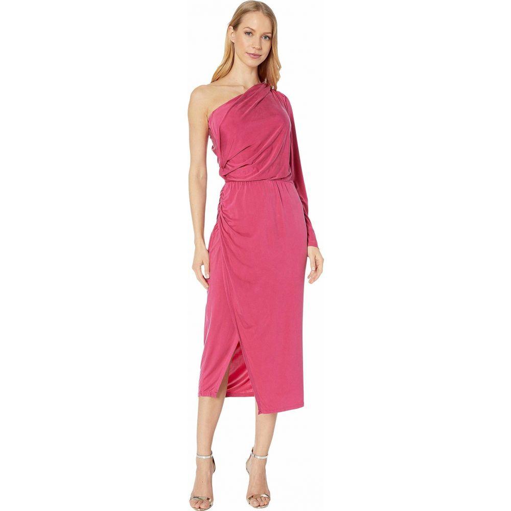 ヤング ファビュラス アンド ブローク Young Fabulous & Broke レディース ワンピース ワンピース・ドレス【Penelope Dress】Cranberry Solid