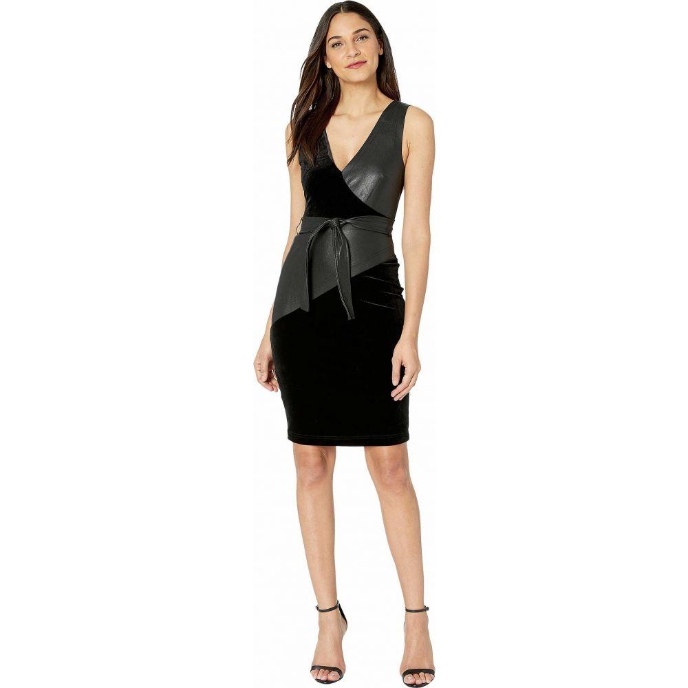 ビーシービージーマックスアズリア BCBGMAXAZRIA レディース ワンピース Vネック タンクドレス ワンピース・ドレス【V-Neck Knit Tank Dress】Black