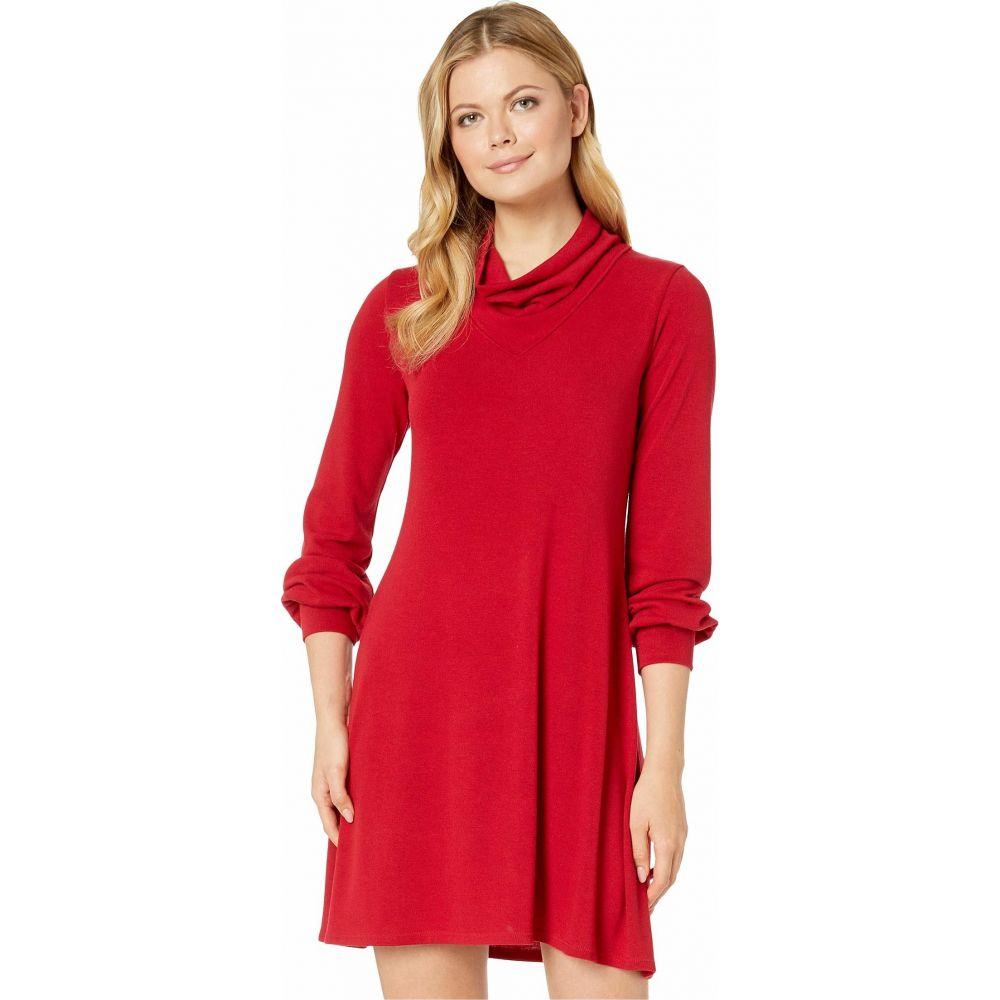 カレンケーン Karen Kane レディース ワンピース ワンピース・ドレス【Turtleneck Sweaterdress】Red