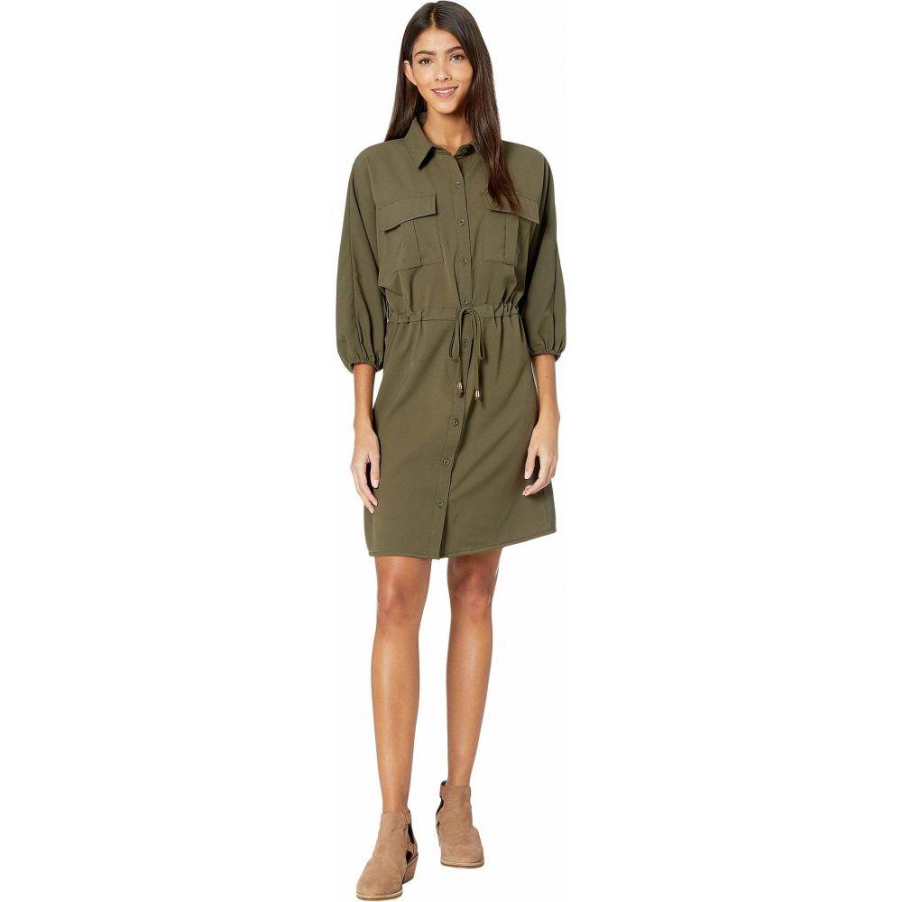 ビショップアンドヤング Bishop + Young レディース ワンピース ワンピース・ドレス【Safari Dress】Safari Green