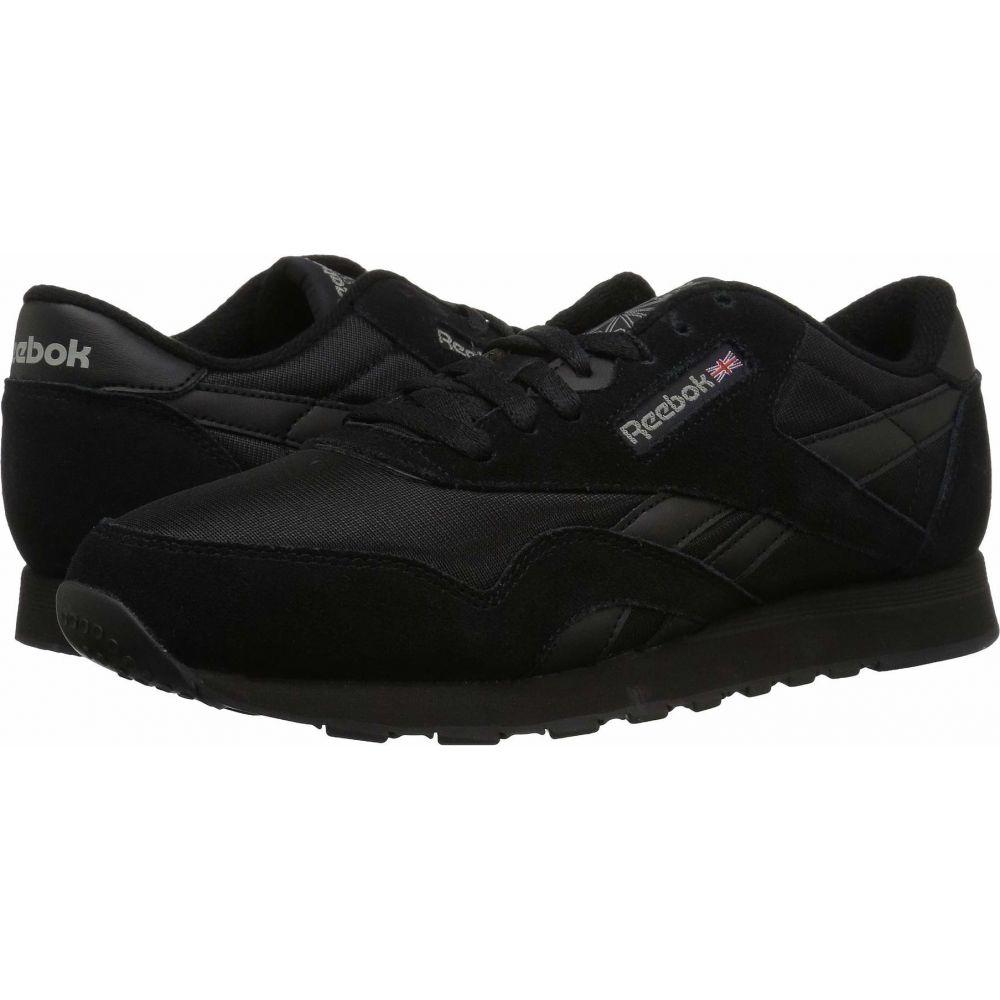 リーボック Reebok メンズ スニーカー シューズ・靴【Cl Nylon】Black/Black/Carbon