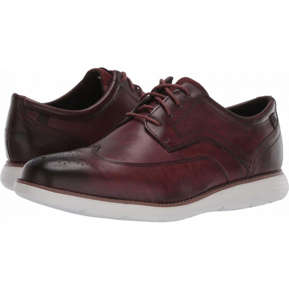 ロックポート Rockport メンズ 革靴・ビジネスシューズ ウイングチップ シューズ・靴【Garett Wing Tip】Burgundy Leather