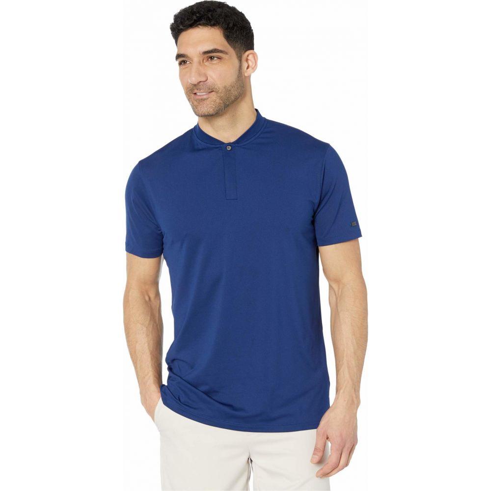 ナイキ Nike Golf メンズ ポロシャツ トップス【TW Dry Polo Blade】Blue Void/Deep Royal Blue