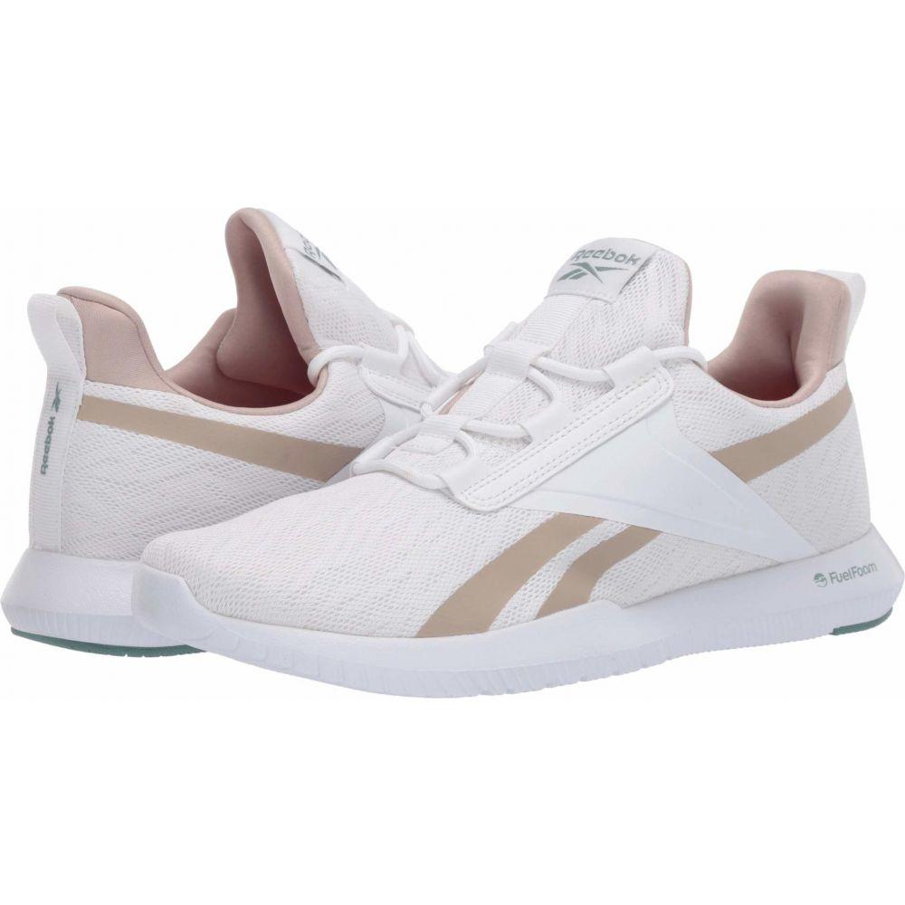 リーボック Reebok レディース スニーカー シューズ・靴【Reago Pulse 2.0】White/Modern Beige/Green Slate