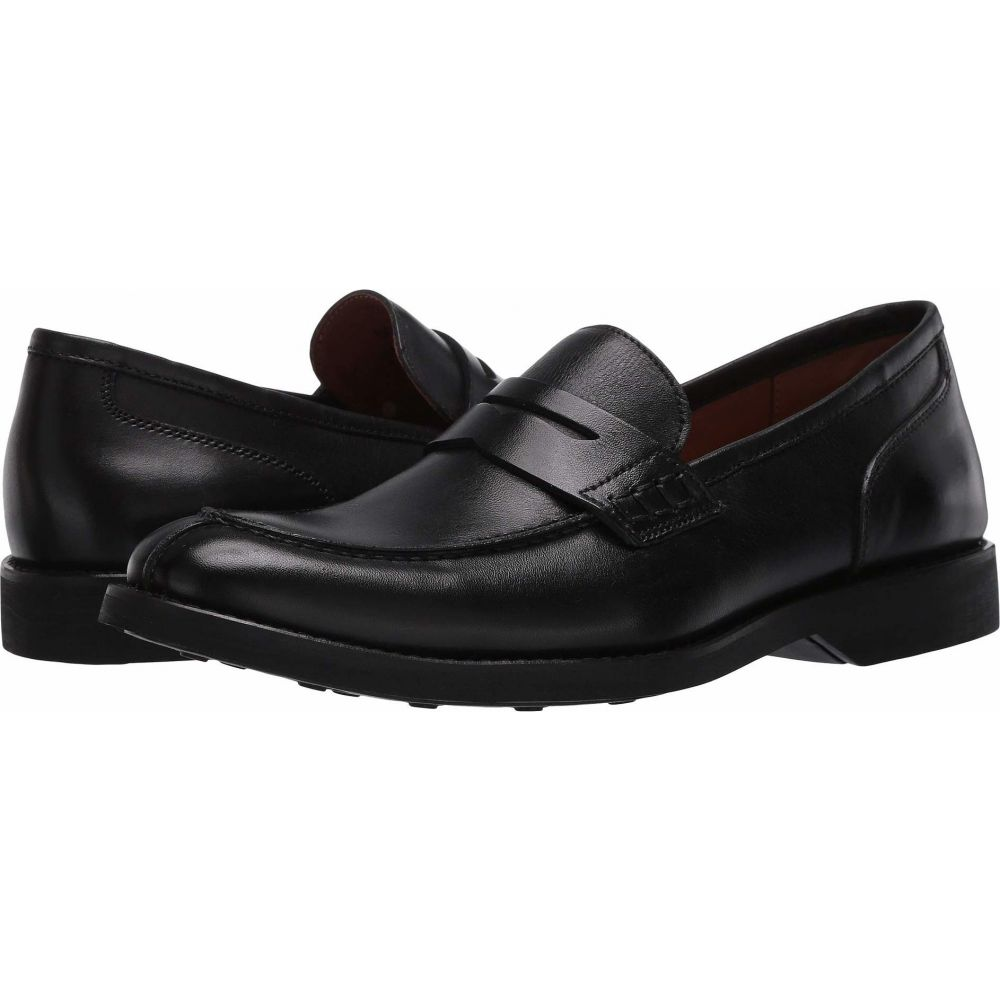 マッテオ マッシモ Massimo Matteo メンズ ローファー シューズ・靴【Bona Fide Penny Loafer】Black