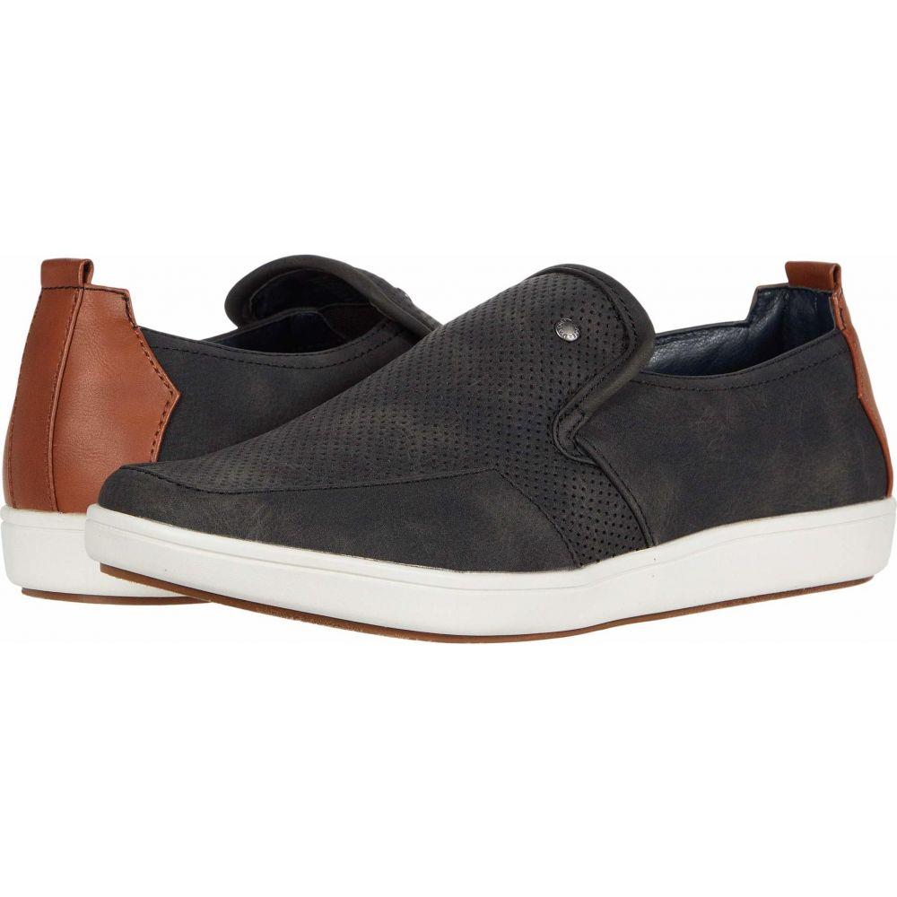 スティーブ マデン Madden by Steve Madden メンズ スニーカー シューズ・靴【Fresin Sneaker】Black Nubuck