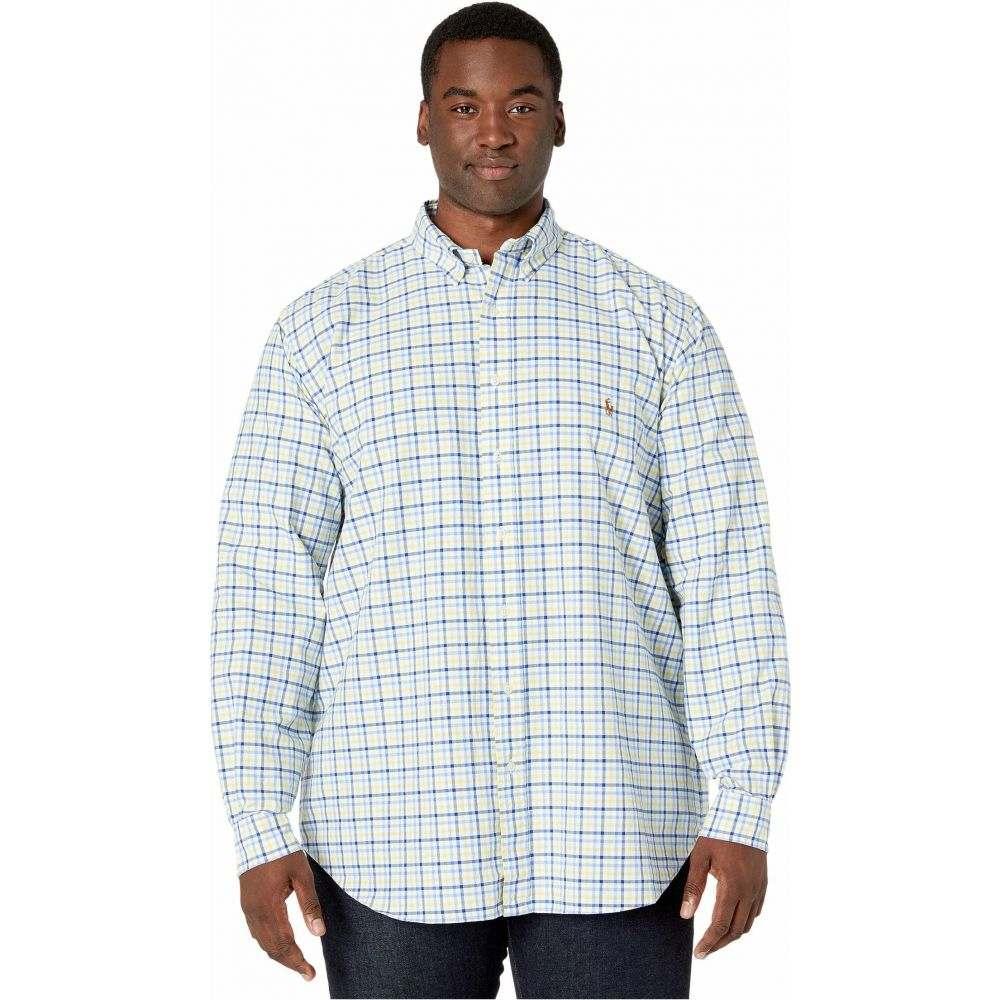 ラルフ ローレン Polo Ralph Lauren Big & Tall メンズ シャツ 大きいサイズ トップス【Big & Tall Classic Fit Oxford Shirt】Yellow/Navy Multi