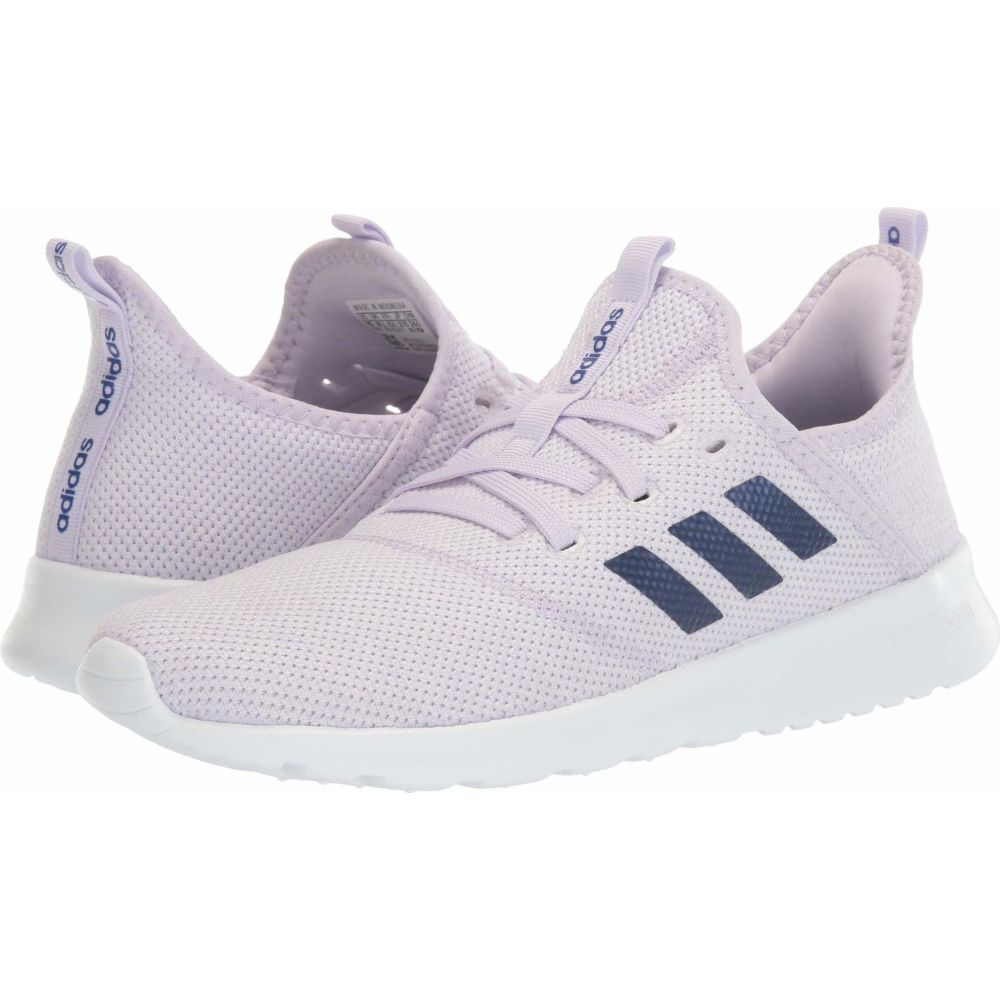 アディダス adidas レディース スニーカー シューズ・靴【Cloudfoam Pure】Purple Tint/Blue Metallic/Footwear White
