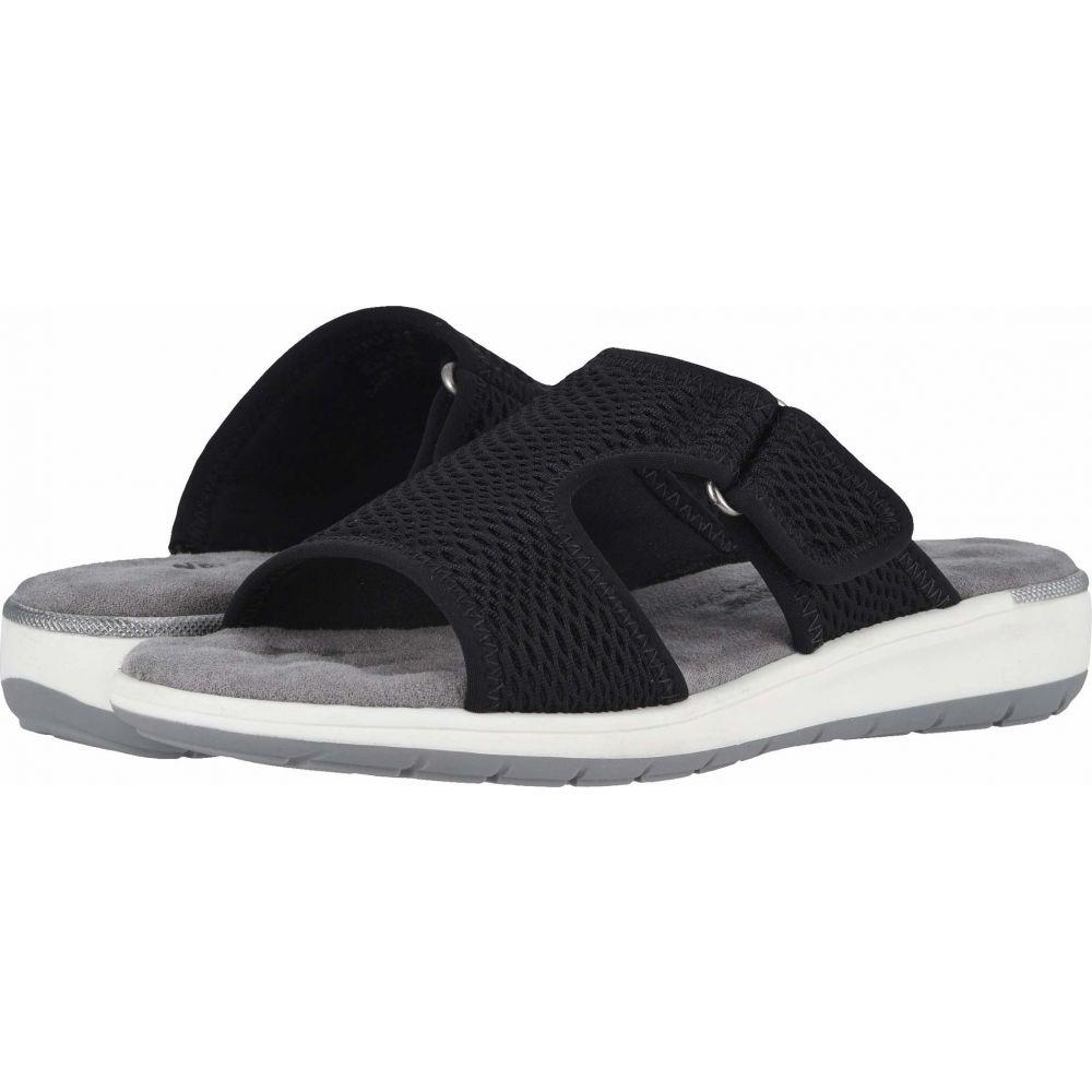 ウォーキング クレードル Walking Cradles レディース サンダル・ミュール シューズ・靴【Simmons】Black Mesh