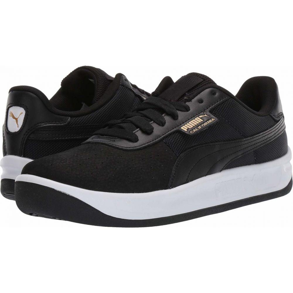 プーマ PUMA レディース スニーカー シューズ・靴【California】Puma Black/Puma White/Puma Black