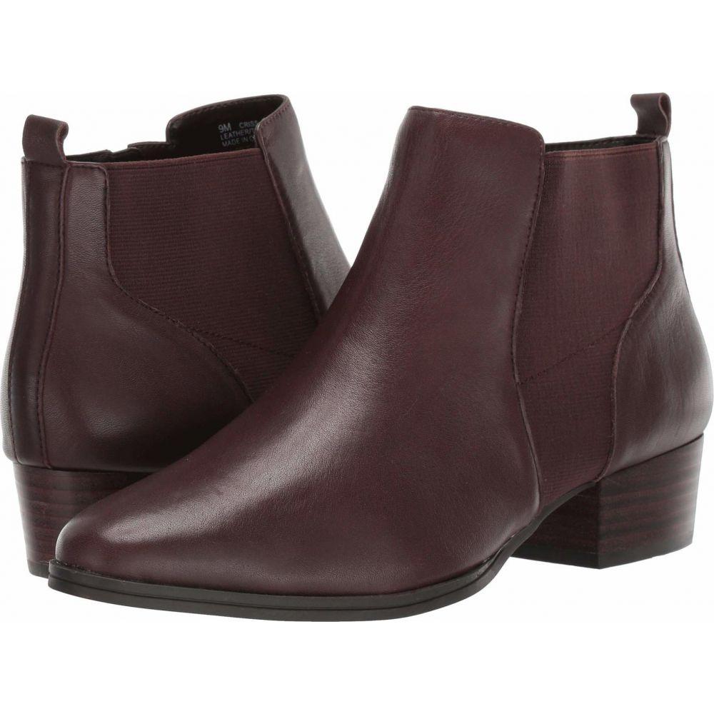 エアロソールズ Aerosoles レディース ブーツ シューズ・靴【Criss Cross】Dark Brown Leather
