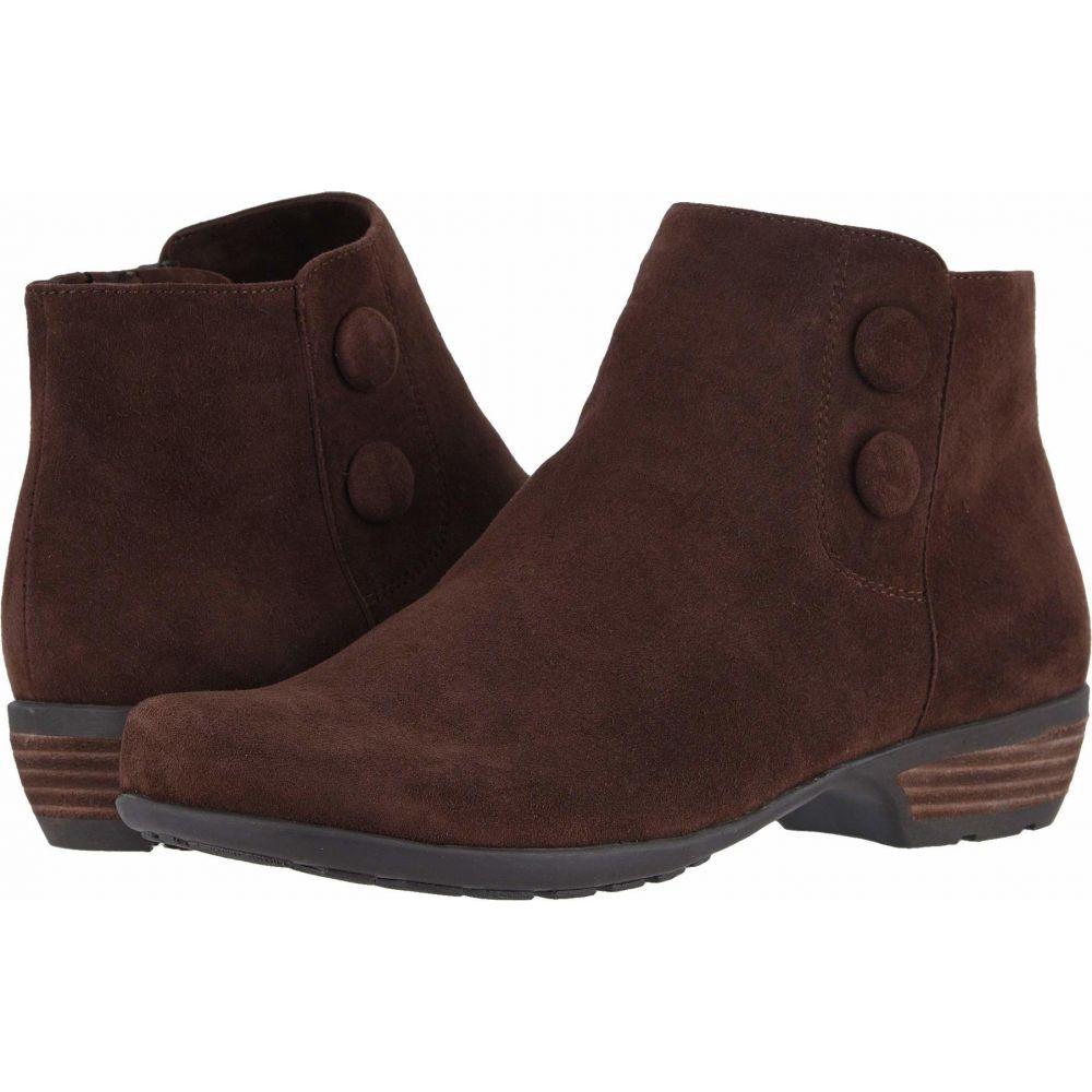 ウォーキング クレードル Walking Cradles レディース ブーツ シューズ・靴【Evan】Brown Suede