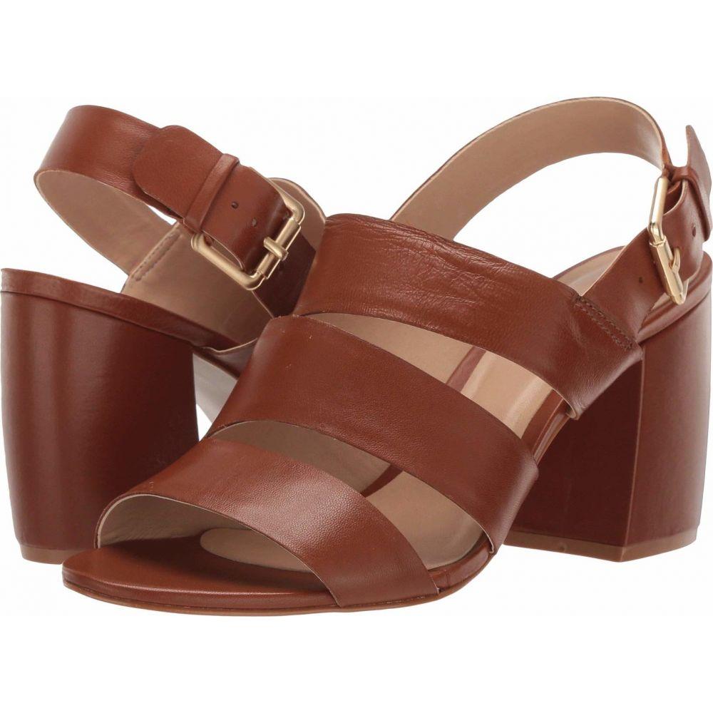 マッテオ マッシモ Massimo Matteo レディース サンダル・ミュール シューズ・靴【Haley Strap Heel】Caramel
