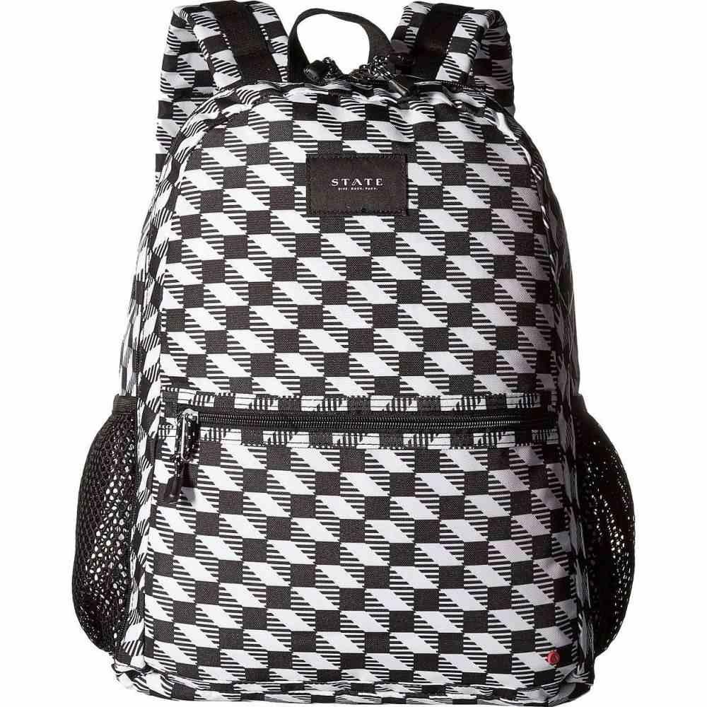 ステイト STATE Bags ユニセックス バックパック・リュック バッグ【Bedford】Black/White