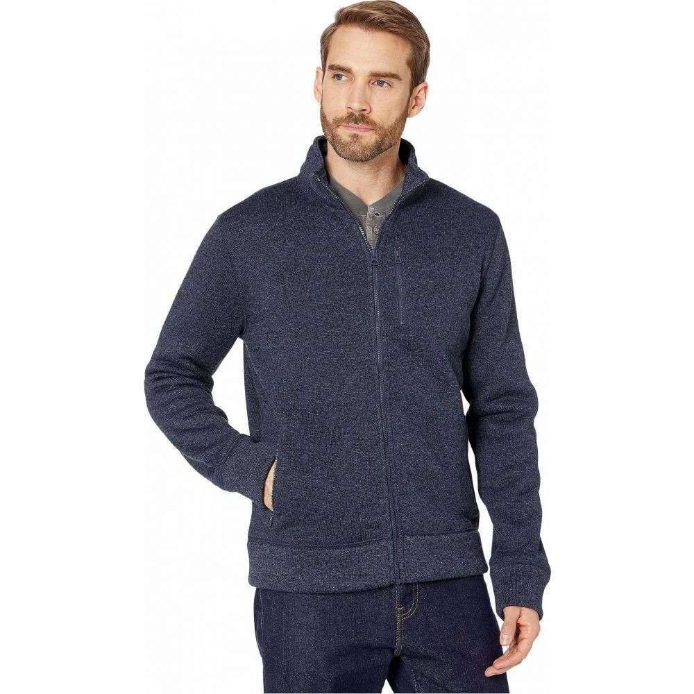ラッキーブランド Lucky Brand メンズ フリース トップス【Los Feliz Fleece Full Zip Mock Neck Jacket】Navy