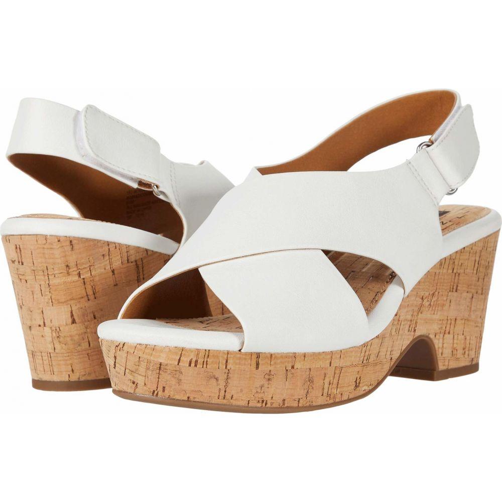 ホワイトマウンテン White Mountain レディース サンダル・ミュール シューズ・靴【Covington】White