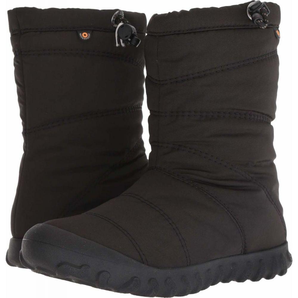 ボグス Bogs レディース ブーツ シューズ・靴【B Puffy Mid】Black
