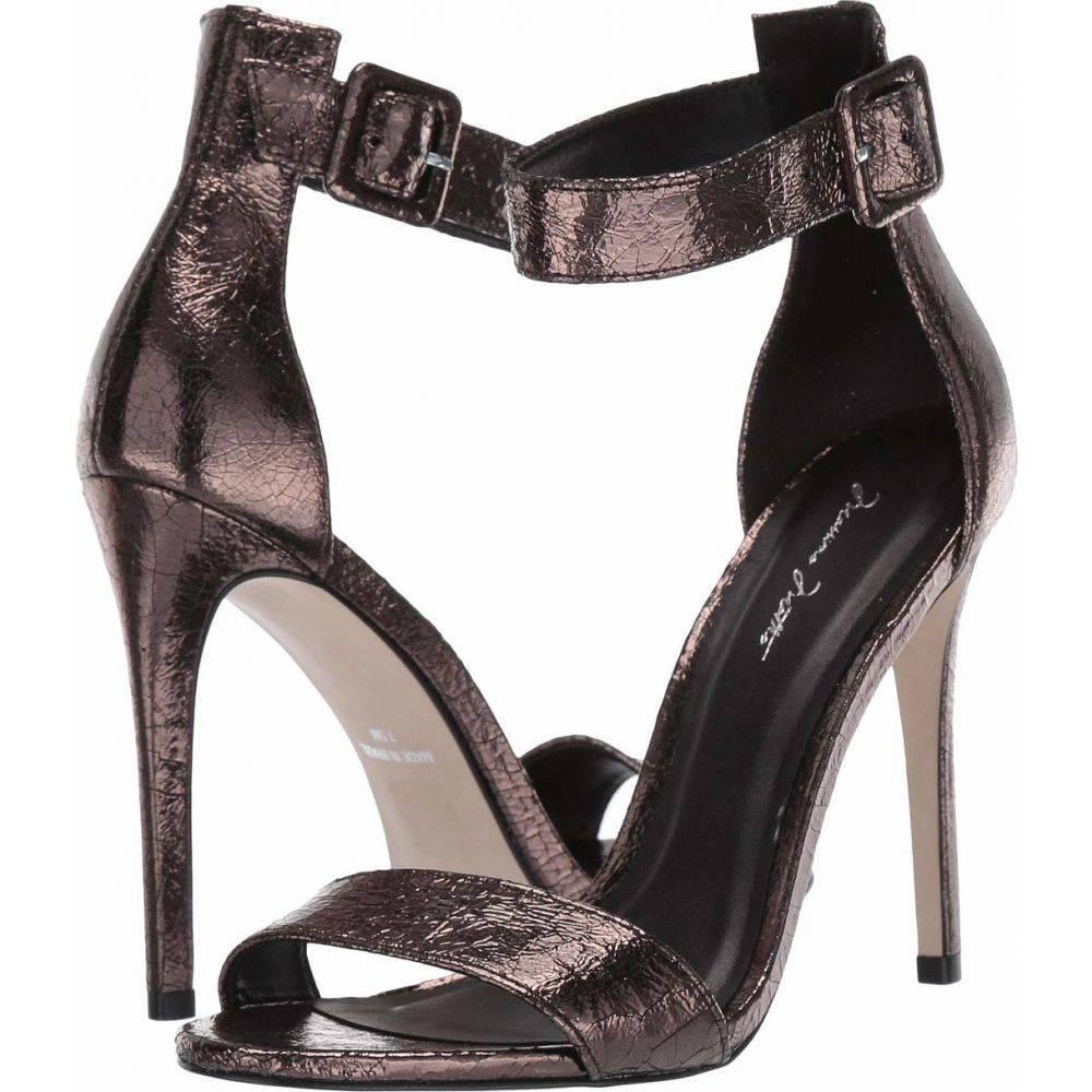 マッテオ マッシモ Massimo Matteo レディース サンダル・ミュール シューズ・靴【Rihanna Slingback Sandal】Metallic Onix