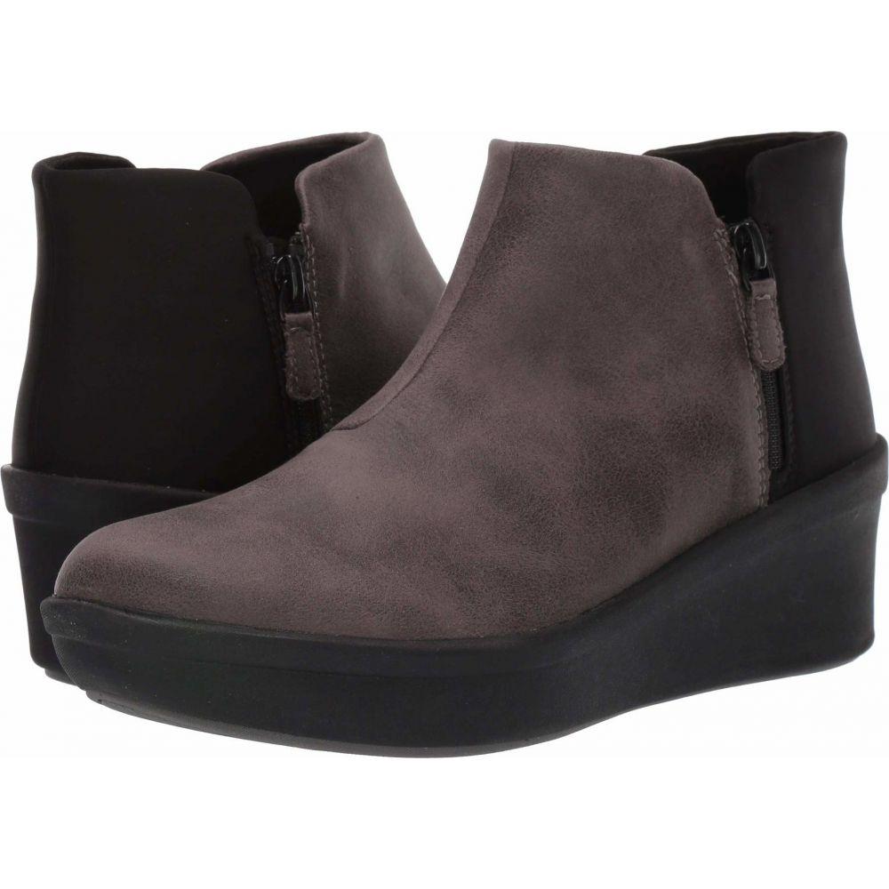 クラークス Clarks レディース ブーツ シューズ・靴【Step Rose Up】Grey Textile