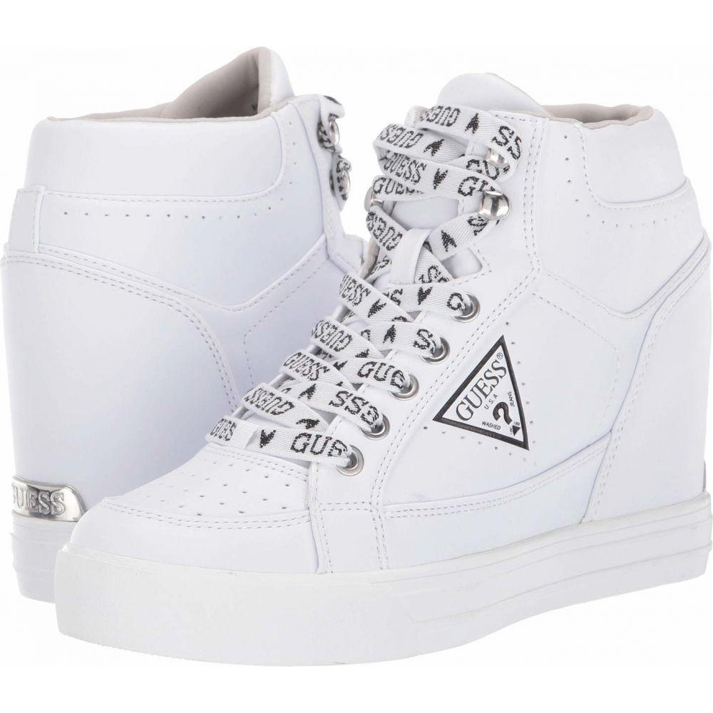 ゲス GUESS レディース スニーカー シューズ・靴【Demetra】White