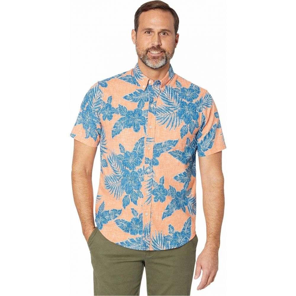 レインスプーナー Reyn Spooner メンズ シャツ トップス【Hibiscus Fronds Tailored Fit】Carnelian