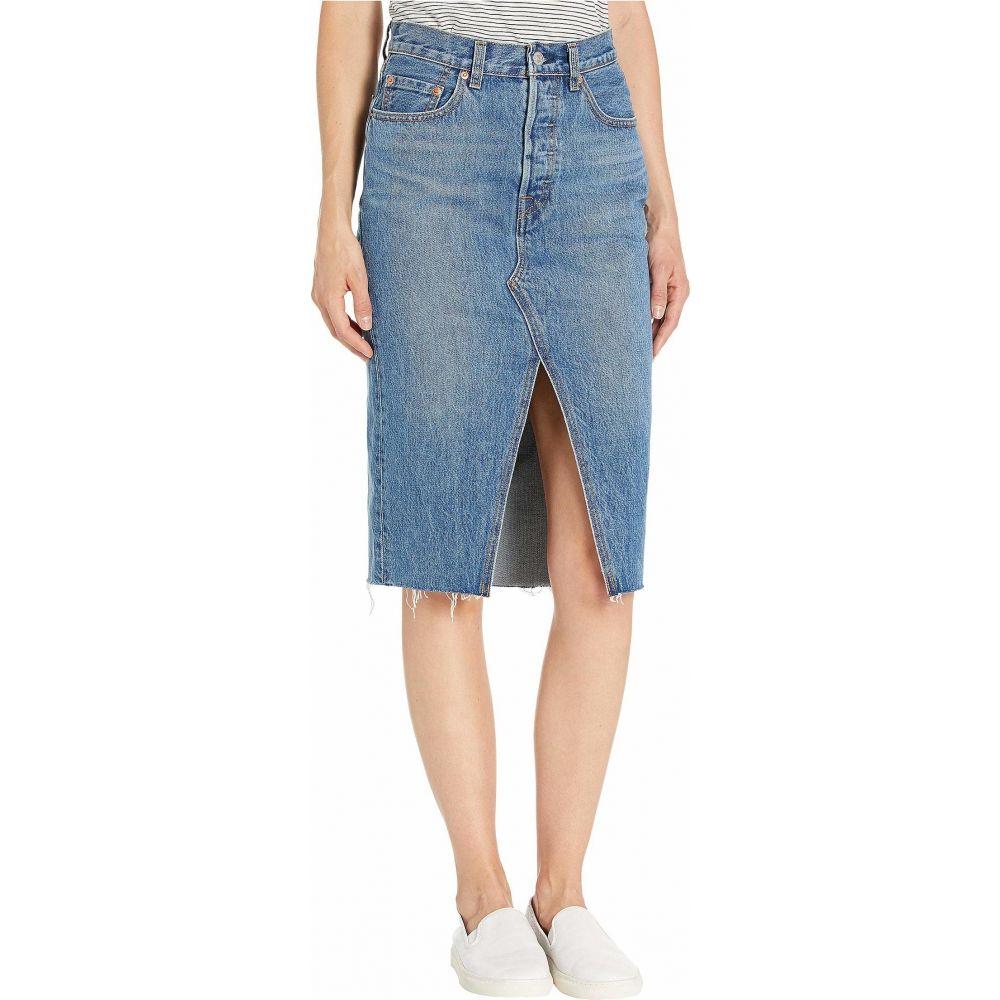 リーバイス Levi's Premium レディース ひざ丈スカート スカート【Deconstructed Midi Skirt】Vast Desert