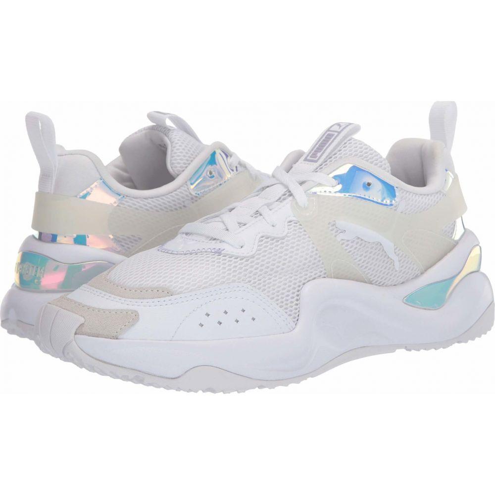 プーマ PUMA レディース スニーカー シューズ・靴【Rise Glow】PUMA White