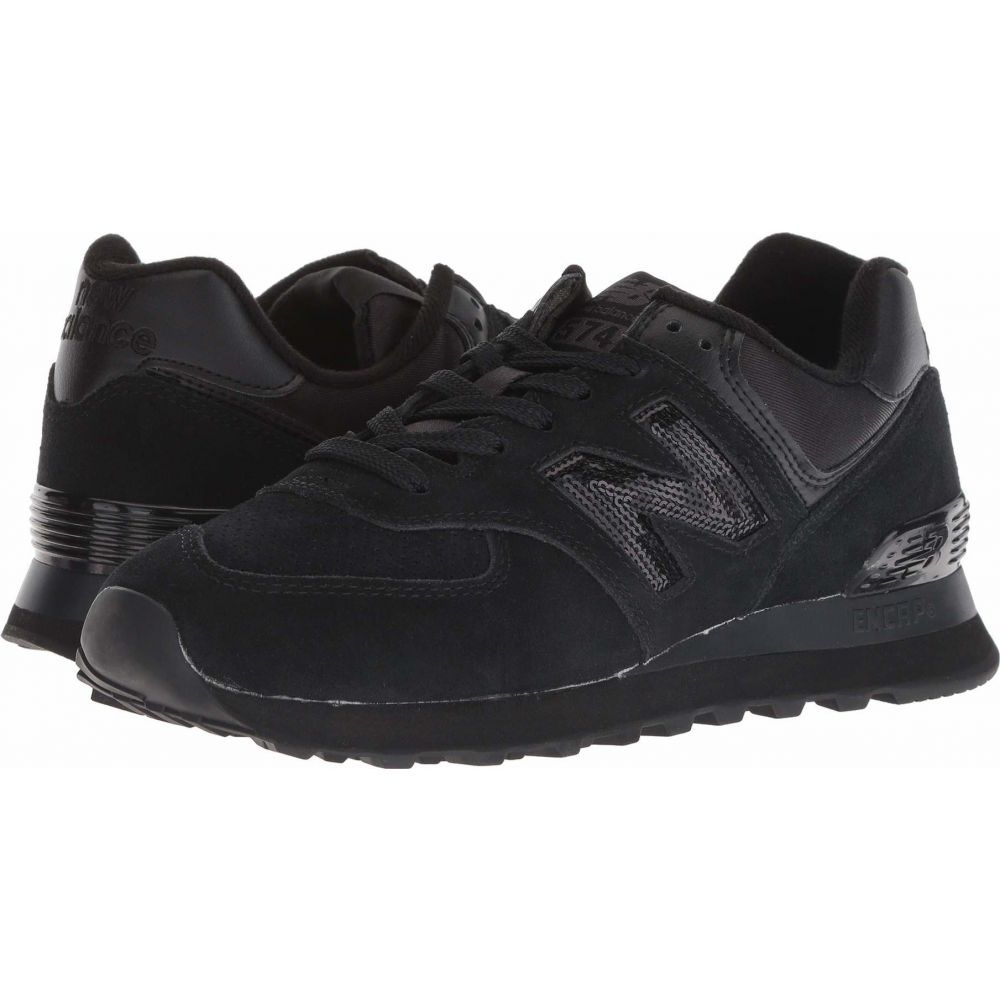 ニューバランス New Balance Classics レディース スニーカー シューズ・靴【WL574v2】Black/Black