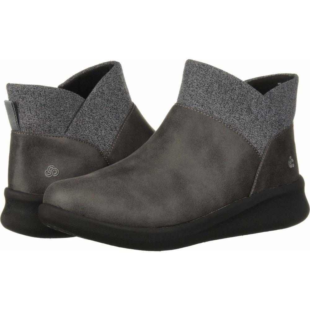 クラークス Clarks レディース ブーツ シューズ・靴【Sillian 2.0 Dusk】Grey Synthetic