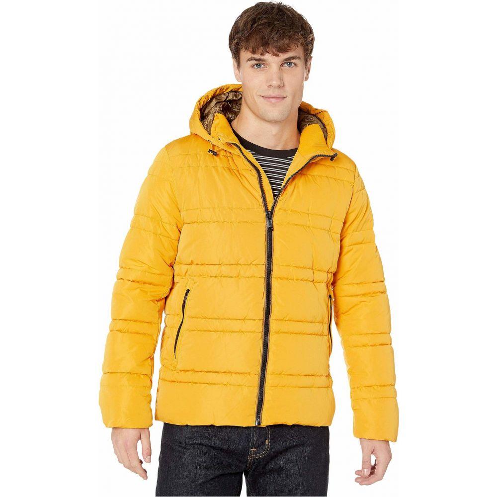 スコッチ&ソーダ Scotch & Soda メンズ ジャケット フード アウター【Classic Hooded PrimaLoft Jacket】Sunflower Yellow